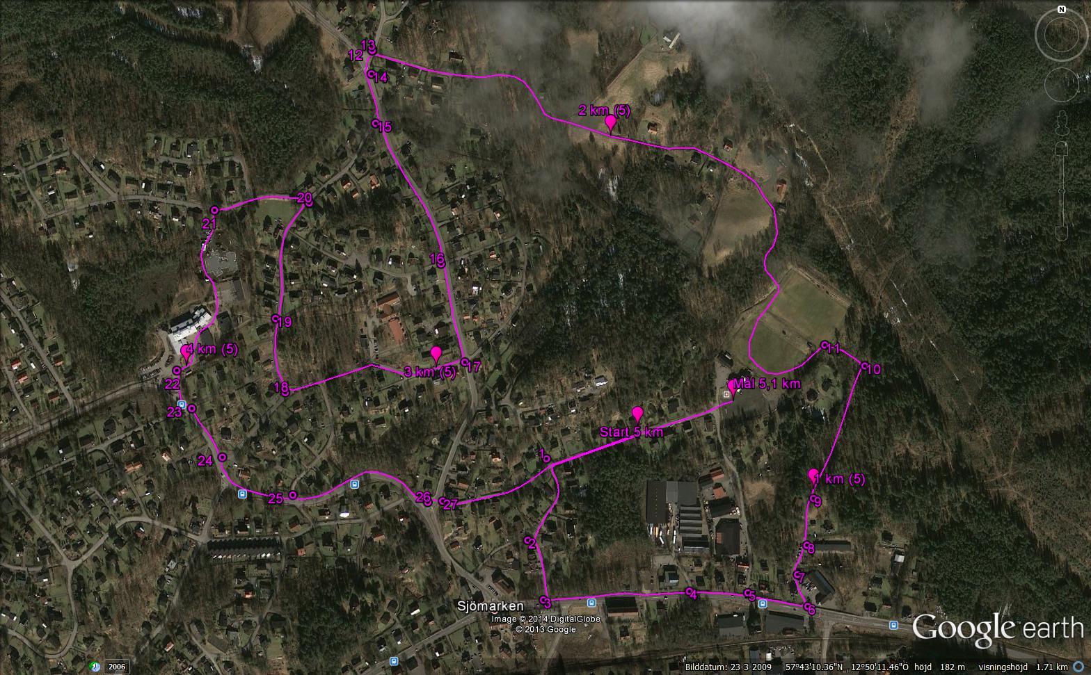 5 km 2014 vakter