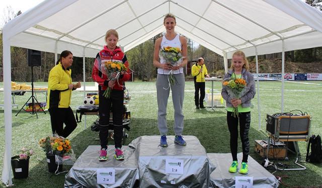 Vinnarna i 5-kilometersloppet