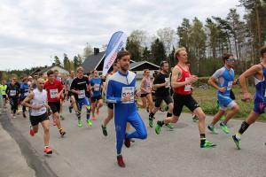 Bild på Sjömarksloppets start