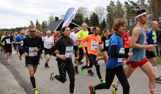 Sjömarksloppet – milen tar sin början
